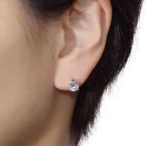 Tear Drop Pear Shaped Stud Earrings